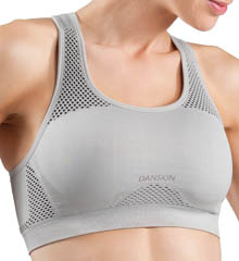 Seamless Back Keyhole Sports Bra
