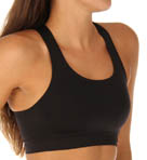 Danskin Seamless Shiny Compression Sports Bra DS0011