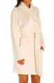Sherpa Trim Shawl Collar Robe Image