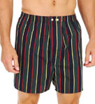 Derek Rose Regimental Ash Classic Cotton Boxer 6000-REGI