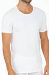 Derek Rose Pima Cotton Stretch Crewneck Tee 8005-JACK