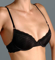 Diesel CAL9AXG Sheer Microfiber Padded Underwire Bra plus size,  plus size fashion plus size appare