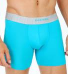 Platinum Microfiber Sebastian Boxer Shorts Long