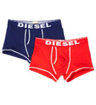 Diesel Divine Boxer Trunk with 2 Inch Inseam  - 2 Pack CG35-PNR