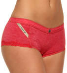 Diesel VIPS Cotton Blend Boyshort Panty CPB7-FVF