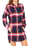 DKNY Mad For Plaid Long Sleeve Boyfriend Shirt 2113174