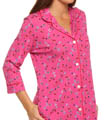 DKNY Print Party 3/4 Sleeve Sleepshirt 2313124