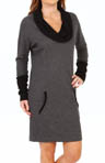 Leisure Class Dolman Sleeve Lounge Dress