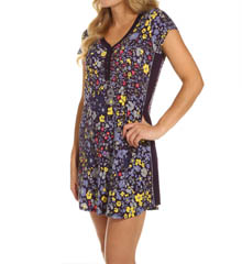 DKNY Bloom Cap Sleeve Sleepshirt 2313255
