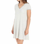 Lazy Afternoon Cap Sleeve Sleepshirt Image