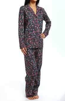 DKNY Top-Notch Long Sleeve PJ Set 2713200