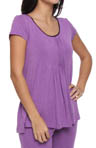 DKNY Seven Easy Pieces Cap Sleeve Tee 3013130