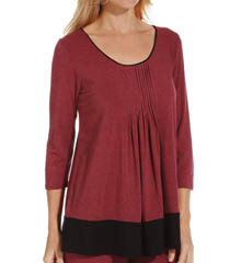 DKNY Seven Easy Pieces 3/4 Sleeve Tee 4013274