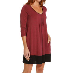 DKNY Seven Easy Pieces 3/4 Sleeve Sleepshirt 4113274