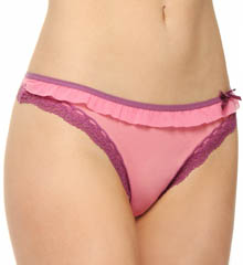 Fancy Frills Low Rise Thong