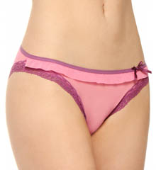 Fancy Frills Low-Rise Bikini Panty
