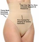 Fusion Lifewear Waist Cincher Thong Image