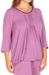 Seven Easy Pieces Plus Size 3/4 Sleeve Tee