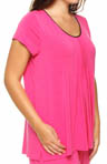 Seven Easy Pieces Plus Size Short Sleeve Tee