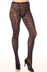 DKNY Hosiery All Over Lace Net Tight 0B562