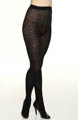 DKNY Hosiery Animal Tulle Tight 0B596