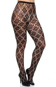 DKNY Hosiery Macro Eyelet Tight