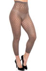 Eyelet Lace Capri Tights