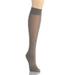 DKNY Hosiery Knee Socks Chevron 0B739