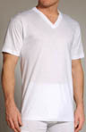 Cotton V-Neck T-Shirt - 4 Pack