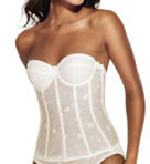 Dominique All Lace Longline Bustier Bra 8900