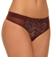 Donna Karan Incognita Embroidered Thong
