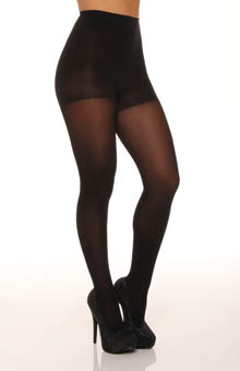 Luxe Opaque Satin Control Top Tights