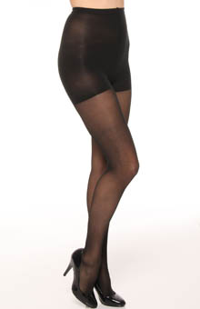 Donna Karan Hosiery The Signature Collection High Waist Satin Tights 0B528