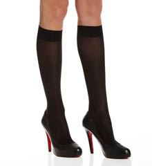 Donna Karan Hosiery Evolution Semi Jersey Knee High Tights - 2 Pack 0B860