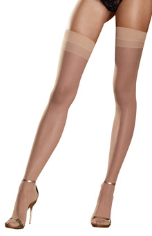 Dreamgirl Sheer Thigh High
