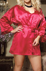 Babydoll Chemise and Robe Set Image