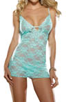 Dreamgirl Stretch Lace Babydoll with Matching Thong 4207