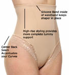 DuMi shapewear Firm Control Hi-Waist Thong Panty 682