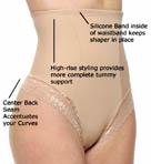 Firm Control Hi-Waist Thong Panty
