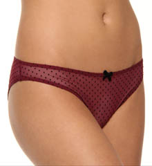 Dotty Cinched Bikini Panty