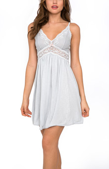 Eberjey Colette Stretch Lace Chemise S718