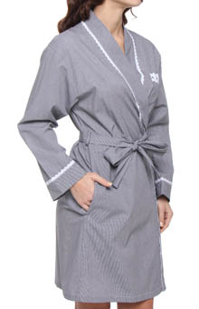 Sweet Promise Short Wrap Robe