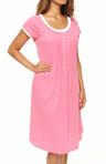 Eileen West Beach Party Cap Sleeve Short Nightgown 5014484