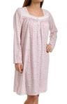 Vintage Bloom Long Sleeve Short Nightgown Image