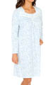 Festival Of Lights Long Sleeve Short Nightgown Image