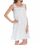 Eileen West Navy Short Nightgown 5014600