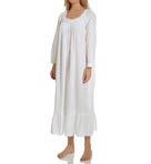 Winter White Ballet Long Sleeve Nightgown Image