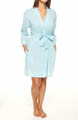 Eileen West Ocean Mist Short Wrap Robe 5114500