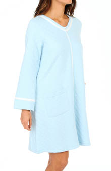 Eileen West Festival Of Lights Short Zip Robe