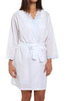 Eileen West The Romantics Short Wrap Robe 5114566
